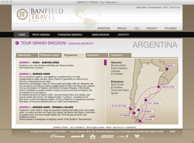 Banfield Travel - Tour Operator