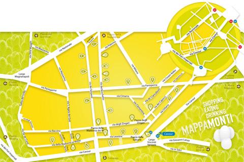 MappaMonti - Map Detail