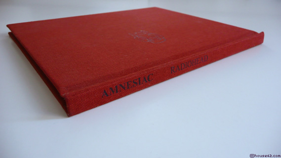 Amnesiac - CD Package