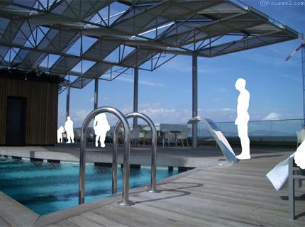 Hotel Silken Diagonal Roof Deck - Barcelona