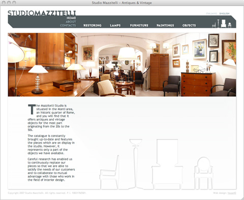 Studio Mazzitelli - Web Site