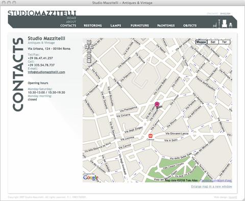Studio Mazzitelli - Web Site