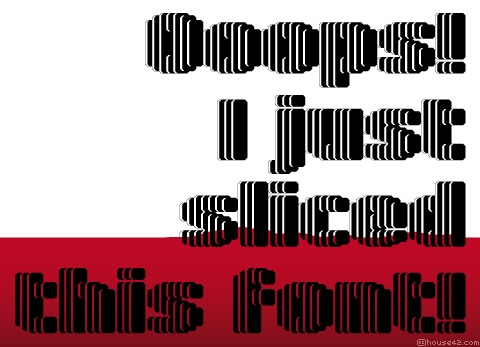 Lamina - FontStruct Font