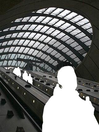 Canary Wharf Tube Station - London