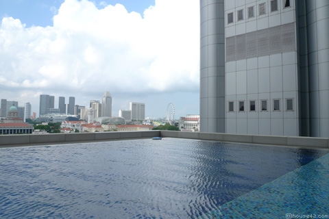 One George Street Outdoor Pool- Singapore