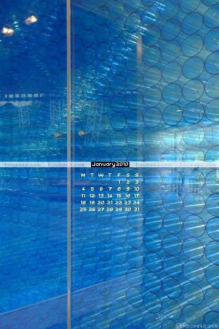 Blue Tubes - Desktop Wallpaper