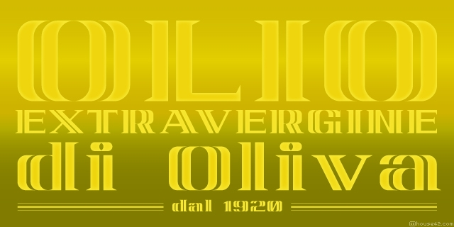 Oliva - FontStruct Font