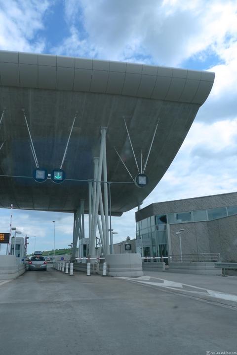 Millau Viaduct Toll Plaza - Millau