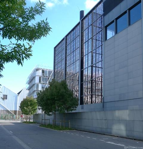 Nantes Courthouse Back Facade - Nantes
