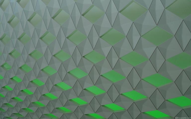 Green Ice - Desktop Wallpaper